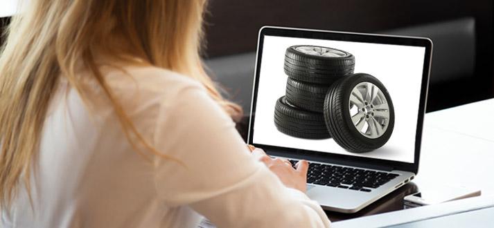 Achat de pneus en ligne