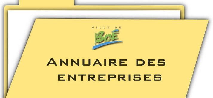 l'annuaire des entreprises