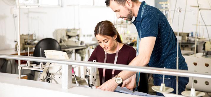 Formation du textile