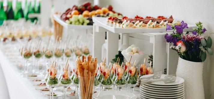 Organisation de fêtes et d'évènements professionnels