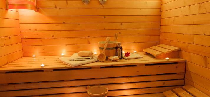 modèle de sauna