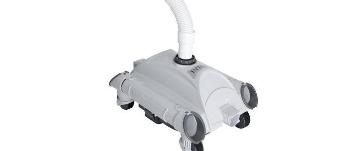 robot de piscine avec suppresseur